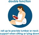 double function pillow from the good sleep expert